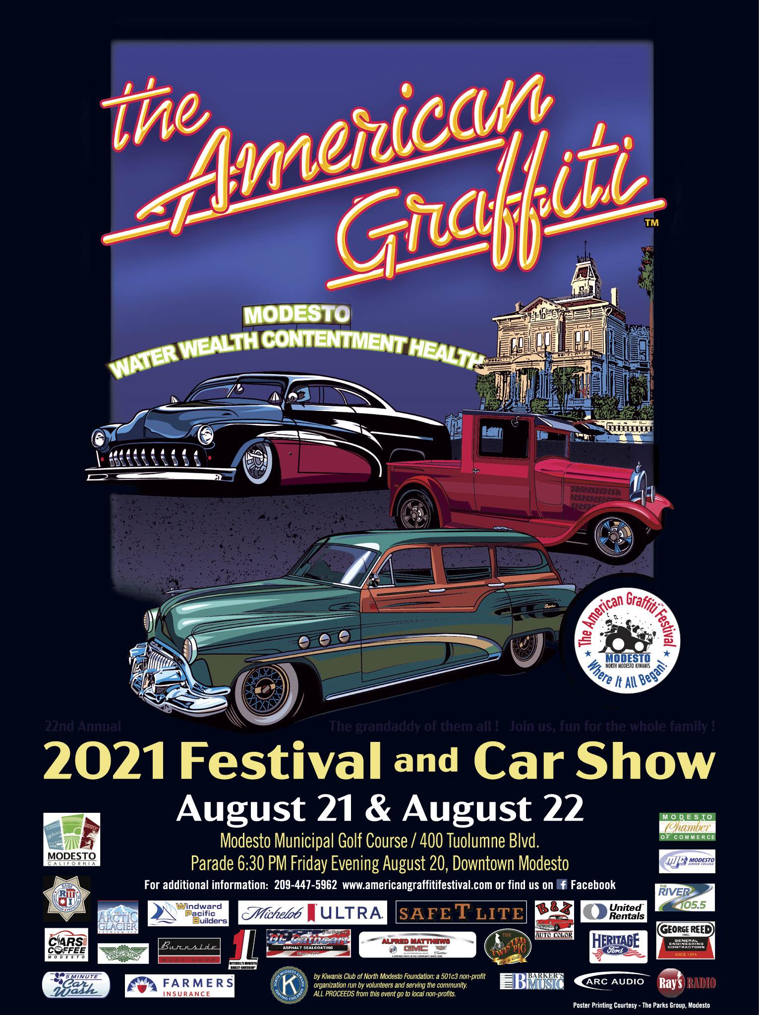 American Graffiti Festival - Classic Car Show 2021
